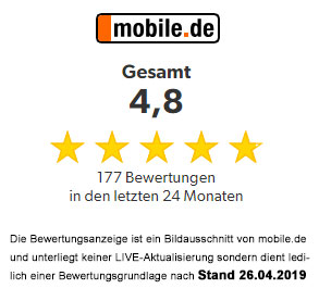 mobile-Bewertung-2019-April | Interpark Automobile